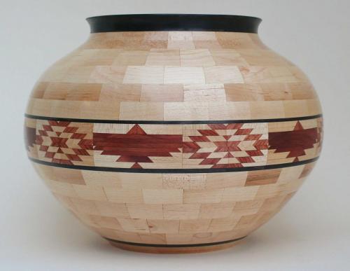 Segmented Vase 3
